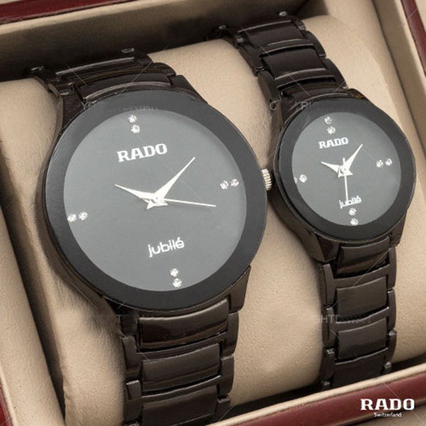 ست ساعت مچی طرح RADO جعبه دار